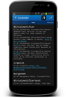 IrssiNotifier screenshot